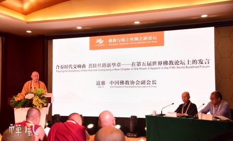 """第五届世界佛教论坛 """"佛教与海上丝绸之路""""分论坛在莆田举行"""