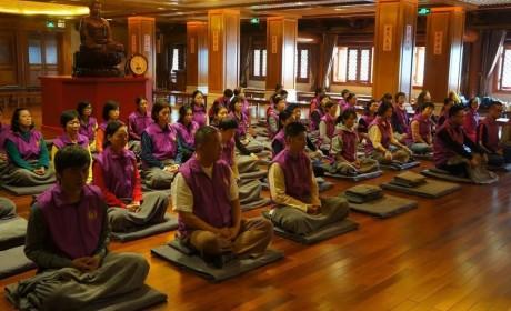 广州大佛寺禅修中心开启首次义工培训 耀智大和尚开示