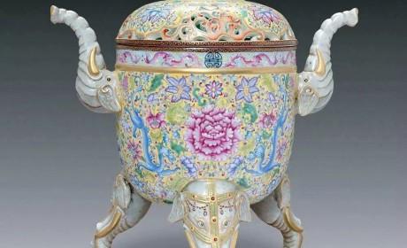 珐琅彩丨康乾年间帝王的秘瓷,也是世界上最奢侈的艺术品