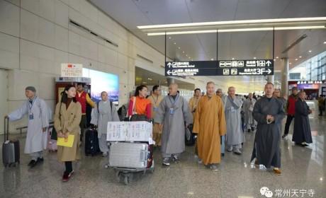 为期五天四夜 第十一次中韩佛教修行体验在常州天宁禅寺举行