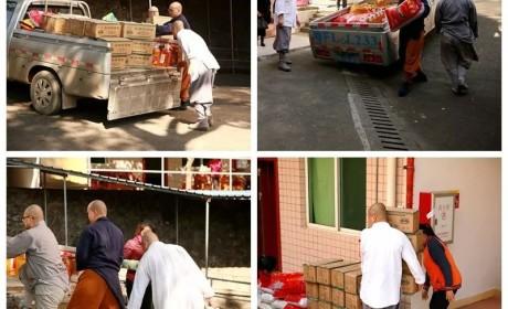 慈善 | 南华禅寺向马坝镇敬老院和大塘镇敬老院捐赠粮油