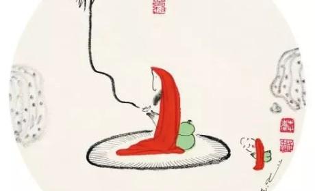 名人与禅修 | 四岁立志一生只做一件事,蔡志忠用漫画解读人生