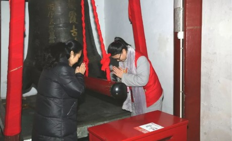 春节我在栖霞寺做义工:来的都是红尘客  修的却是清净心