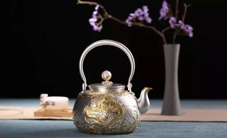 """银壶丨爱茶者的神助攻!它可不是显气派的""""花架子""""!"""