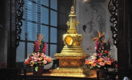 仅此一天!成都文殊院全天开放玄奘大师舍利塔供大众瞻仰