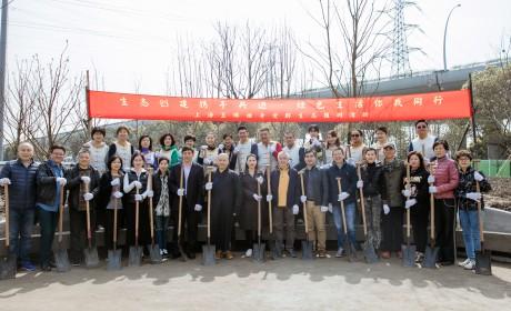 上海玉佛禅寺举行觉群生态植树活动 携手共创绿色生活