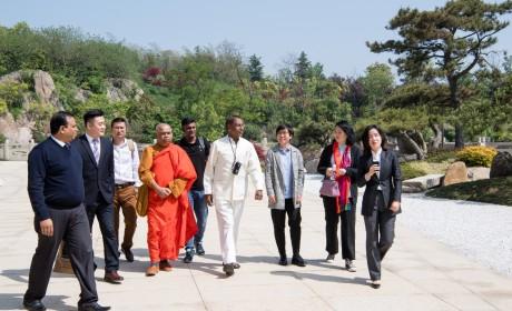 斯里兰卡佛教部部长参访南京牛首山文化旅游区 加强文化交流