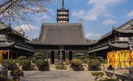国际化大都市里的佛门寺院如此美?那可都是用匠心来建造的