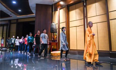 形式多样 南京牛首山佛顶寺举办精品佛禅文化体验活动