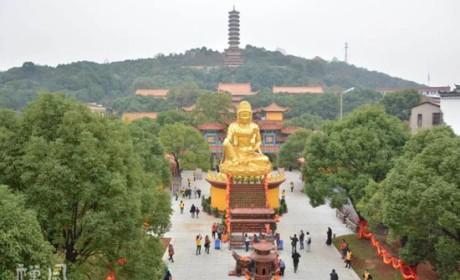 首届佛教生态文化节暨圣安寺重建20周年庆典隆重举行