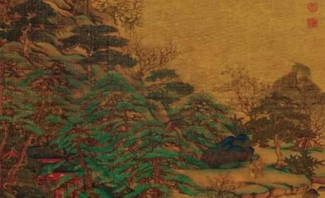 中国山水画的创始人竟然是一位唐朝的大将军