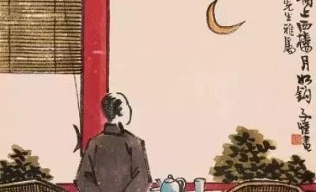 丰子恺丨开着唱机泡着茶的他 是如何用小画道尽一生茶事的?