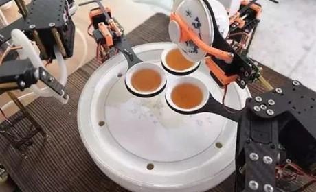 人工智能来了!机器人在泡茶领域都有哪些优秀表现?