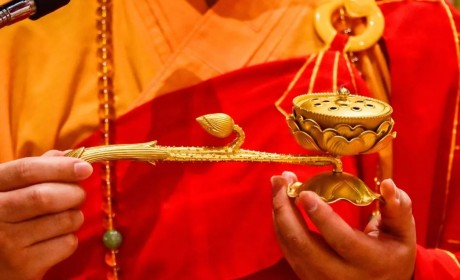 第三日 | 无遮水陆法会内坛举行结界、发符、悬幡仪式
