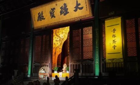 """2019中国茶禅学会""""茶与禅学术研讨会""""在杭州灵隐寺举行"""