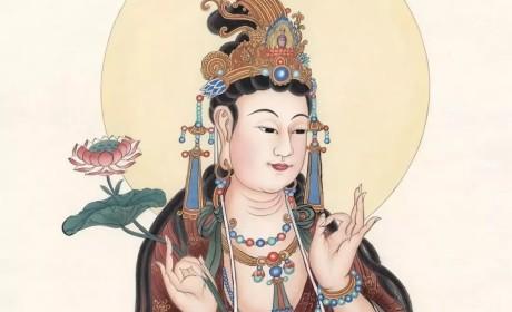 """头上""""戴""""宝瓶的大势至菩萨,向人们传递着什么智慧?"""