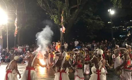 普法法师率中国佛教代表团赴斯里兰卡参加佛牙节庆祝活动