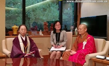 中国佛教代表团应邀赴日本出席阿含宗盂兰盆万灯供养法会