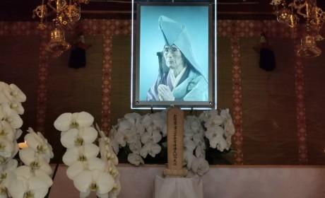 怡藏大和尚赴日本参加村上博优长老追思法会并致悼词