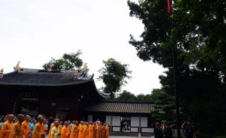 """庆祝中华人民共和国成立70周年 广东佛教界开展 """"光辉历程 现实启示"""" 为主题的爱国主义学习教育系列活动"""