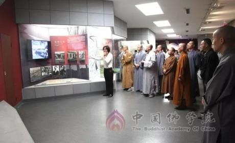 中国佛学院全体师生赴河北爱国主义教育基地开展现场教学实践活动