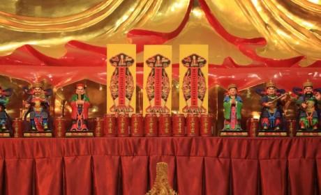 湖北黄梅五祖寺水陆法会第一天丨斋天,是请天人吃饭吗?