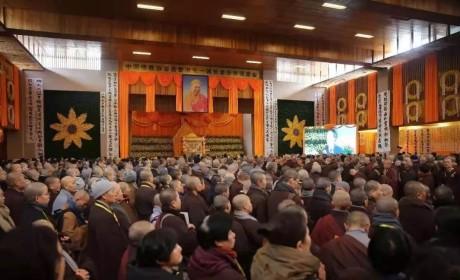 江西云居山真如禅寺举行纪念一诚老和尚示寂两周年传供法会