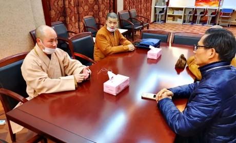 心系疫情!上海市松江区西林禅寺方丈悟端大和尚以个人的名誉捐赠10万元善款