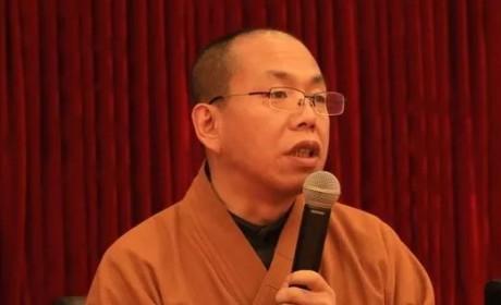 中国佛学院栖霞山分院举行寒假大会  隆相大和尚现场开示
