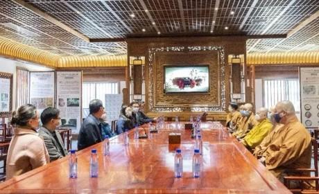 广州光孝寺捐资500万元 支援武汉火神山医院建设