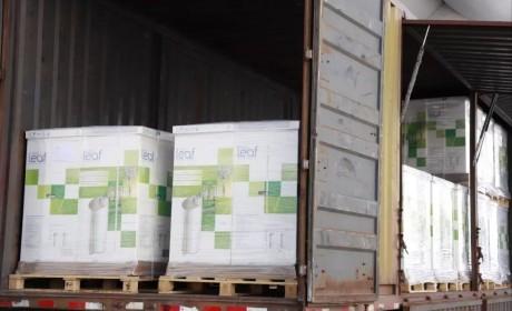 """齐心战""""疫""""  苏州和合文化基金会捐赠空气净化设备"""