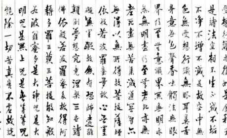 珠海普陀寺文化赏析:书道禅心  菩提一叶