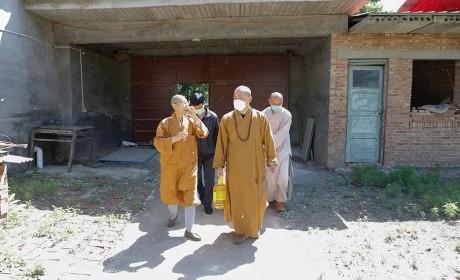 河北省佛教协会帮扶慰问部分困难寺院