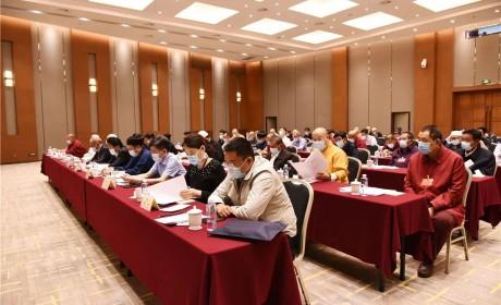 全国政协委员印顺大和尚在全国政协十三届三次会议小组会议上发言