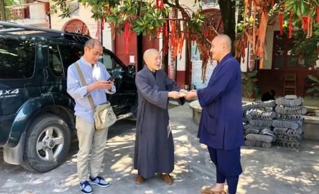 湖南省佛慈基金会、开福寺联合走访慰问多家困难寺院