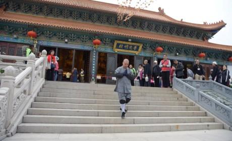 回顾:历时145天 珠海普陀寺净合法师三步一拜朝礼九华山地藏菩萨道场