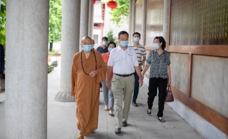 广州市花都华严寺7月5日恢复开放 信众有序入寺