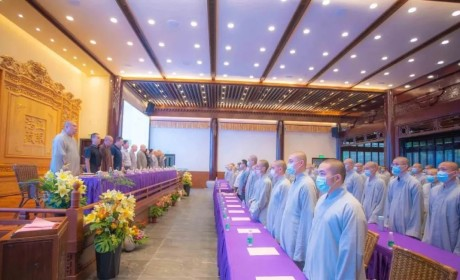 江苏佛学院寒山学院2020年秋季开学典礼圆满
