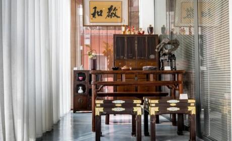 初见——2020敬和古器物暨中国书画特展启幕 含多个佛教主题展品(图)