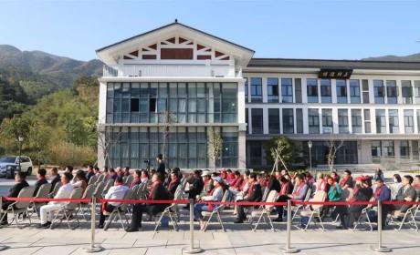雪窦山弥勒文化节 | 推动两岸文化交流 古汉杰藏品展在浙江佛学院开展