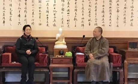 平安迎新年,防疫不松懈——广州市人大常委举行佛教界新春团拜会