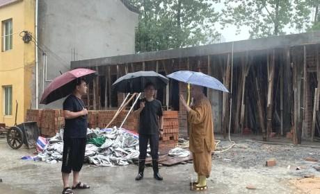 """台风""""烟花""""来袭 浙江宗教界防御工作做了哪些"""